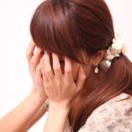 顔を隠す女性3